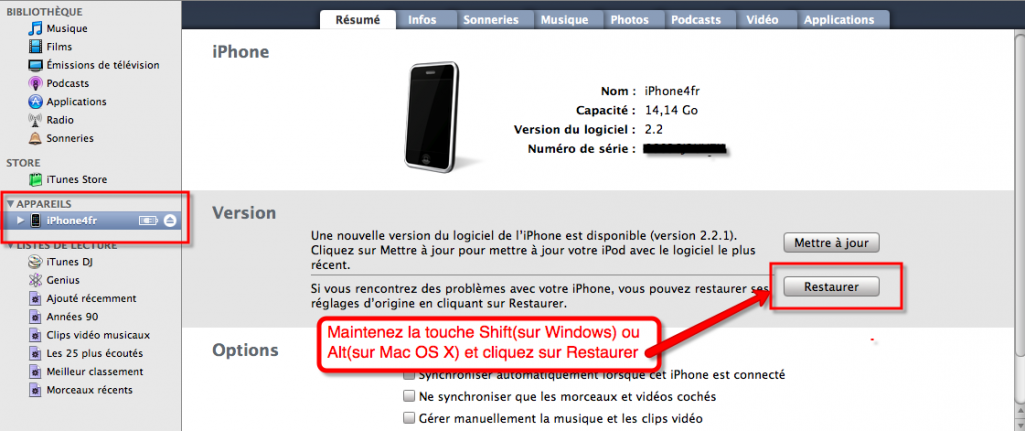 Firmwares pour iPhone, iPad, iPod Touch et Apple TV